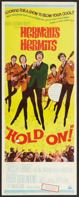 """Hold On! (MGM, 1966). Insert (14"""" X 36""""). Rock and Roll"""