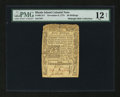 Colonial Notes:Rhode Island, Rhode Island November 6, 1775 40s PMG Fine 12 Net....
