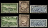 15¢ - $1 Airmail Pictorial Issue (C6-11)