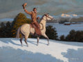 Paintings, BOB LEE (American, b. 1933). The Headquarters Ranch, 1979. Oil on masonite. 18 x 24 inches (45.7 x 61.0 cm). Signed and ...