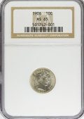 Barber Dimes: , 1906 10C MS65 NGC. NGC Census: (43/8). PCGS Population (36/17).Mintage: 19,958,406. Numismedia Wsl. Price for problem free...