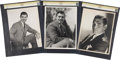 Movie/TV Memorabilia:Photos, Clark Gable Photo Portraits by Clarence Bull.... (Total: 3 )