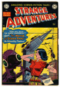 Golden Age (1938-1955):Science Fiction, Strange Adventures #7 (DC, 1951) Condition: VG....
