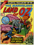 Bronze Age (1970-1979):Miscellaneous, Marvel Treasury of Oz #1 The marvelous Land of Oz (Marvel, 1975)Condition: NM-....