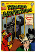 Golden Age (1938-1955):Science Fiction, Strange Adventures #8 (DC, 1951) Condition: GD/VG....