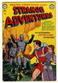 Golden Age (1938-1955):Science Fiction, Strange Adventures #13 (DC, 1951) Condition: GD/VG....