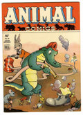 Golden Age (1938-1955):Funny Animal, Animal Comics #10 (Dell, 1944) Condition: VF/NM....