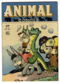 Golden Age (1938-1955):Funny Animal, Animal Comics #11 (Dell, 1944) Condition: NM-....