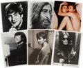 Music Memorabilia:Photos, Beatles Related - John Lennon Photo Group of 18.... (Total: 18 )