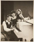 Music Memorabilia:Photos, Frank Sinatra and Family Photo Portrait....
