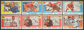 Football Cards:Lots, 1955 Topps All-American Collection (43) With Luckman. ...