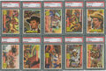 "Non-Sport Cards:Sets, 1956 Topps ""Round Up"" High End Partial Set (39/80). ..."