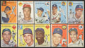 Baseball Cards:Lots, 1954 Topps Baseball Collection (37) With HoFers! ...