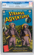 Golden Age (1938-1955):Science Fiction, Strange Adventures #1 (DC, 1950) CGC FN 6.0 Off-white pages....