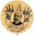 Political:Pinback Buttons (1896-present), Alton B. Parker: One of the Best Single-Portrait Designs for this1904 Democratic Nominee. ...