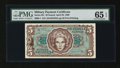 Military Payment Certificates:Series 651, Series 651 $5 PMG Gem Uncirculated 65 EPQ....