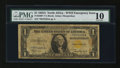 Small Size:World War II Emergency Notes, Fr. 2306* $1 1935A North Africa Silver Certificate Star. PMG Very Good 10.. ...