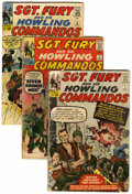 Silver Age (1956-1969):War, Sgt. Fury and His Howling Commandos Box Lot (Marvel, 1963-71).... (Total: 67 )