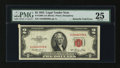 Error Notes:Attached Tabs, Fr. 1509 $2 1953 Legal Tender Note. PMG Very Fine 25.. ...