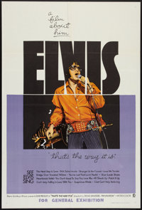 "That's the Way It Is (MGM, 1971). Australian One Sheet (27"" X 40""). Elvis Presley"