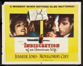 "Movie Posters:Drama, Indiscretion of an American Wife (Columbia, 1954). Half Sheet (22""X 28"") Style B. Drama.. ..."