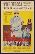 """Movie Posters:Drama, Not as a Stranger (United Artists, 1955). Window Card (14"""" X 22"""").Drama.. ..."""