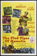 """Movie Posters:Musical, The Pied Piper of Hamelin (International Film Distributors, 1961).One Sheet (27"""" X 41""""). Musical.. ..."""