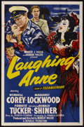 """Movie Posters:Action, Laughing Anne (Republic, 1954). One Sheet (27"""" X 41""""). Action.. ..."""