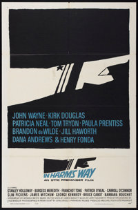 "In Harm's Way (Paramount, 1965). One Sheet (27"" X 41""). War"