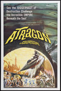 "Movie Posters:Science Fiction, Atragon (American International, 1964). One Sheet (27"" X 41"").Science Fiction.. ..."