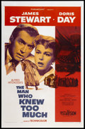 "Movie Posters:Hitchcock, The Man Who Knew Too Much (Paramount, 1956). One Sheet (27"" X 41"").Hitchcock.. ..."