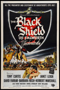 "Movie Posters:Adventure, The Black Shield of Falworth (Universal International, 1954). One Sheet (27"" X 41""). Adventure.. ..."
