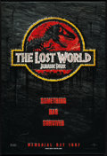 "Movie Posters:Horror, Jurassic Park II: The Lost World (Universal, 1997). One Sheet (27""X 40"") DS Advance. Horror.. ..."