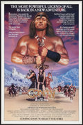 "Movie Posters:Action, Conan the Destroyer (Universal, 1984). One Sheets (2) (27"" X 41"").Action.. ... (Total: 2 Items)"
