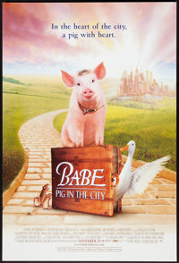 "Babe: Pig in the City Lot (Universal, 1998). One Sheets (4) (27"" X 40"")DS. Family. ... (Total: 4 Items)"