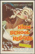 "Movie Posters:Bad Girl, High School Hellcats (American International, 1958). One Sheet (27""X 41""). Bad Girl.. ..."