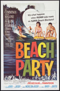 """Movie Posters:Comedy, Beach Party (American International, 1963). One Sheet (27"""" X 41"""").Comedy.. ..."""