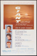 """Movie Posters:Drama, Giant (Warner Brothers, 1956). One Sheet (27"""" X 41""""). Drama.. ..."""