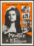 """Movie Posters:Crime, The Facts of Murder (Seven Arts, 1965). French Canadian Poster (18""""X 24.25""""). Crime.. ..."""