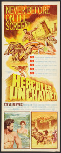 "Movie Posters:Adventure, Hercules Unchained Lot (Warner Brothers, 1960). Inserts (3) (14"" X36""). Adventure.. ... (Total: 3 Items)"