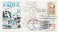 Autographs:Post Cards, Legendary Coaches Signed First Day Cover....
