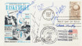 Autographs:Post Cards, Hall of Fame Centers Signed First Day Cover....