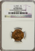 C.1967 1C General Motors Cent, P-4060, Control Code M-23--Environmental Damage--NGC. AU Details