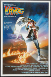 "Back to the Future (Universal, 1985). One Sheet (27"" X 41"") Advance. Science Fiction"
