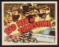 """Movie Posters:Western, Bad Men of Tombstone Lot (Allied Artists, 1948). Title Lobby Card and Lobby Cards (2) (11"""" X 14""""). Western.. ... (Total: 3 Items)"""