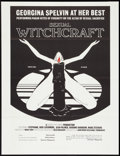 "Movie Posters:Adult, Sexual Witchcraft (Anonymous Releasing, 1973). One Sheet (27"" X 41"") Flat Folded. Adult.. ..."