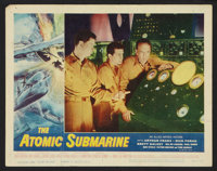 "The Atomic Submarine (Allied Artists, 1959). Lobby Card Set of 8 (11"" X 14""). Science Fiction. ... (Total: 8 I..."