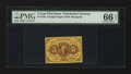 Fractional Currency:First Issue, Fr. 1230 5¢ First Issue PMG Gem Uncirculated 66 EPQ....