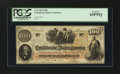 Confederate Notes:1862 Issues, T41 $100 PF-20 Cr. 316A 1862.. ...