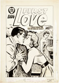 Original Comic Art:Covers, First Love Illustrated Cover Original Art (Harvey, 1958)....